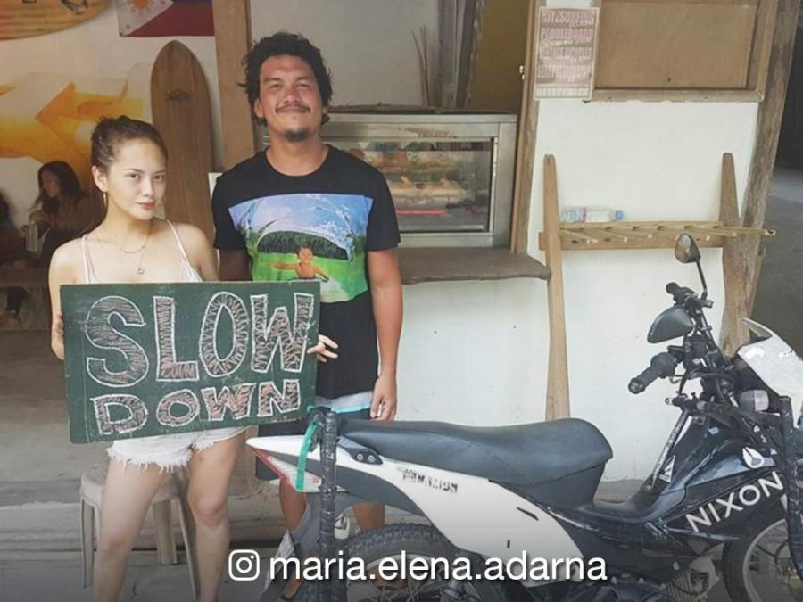 Ellen Adarna clarifies that she and Baste Duterte are friends