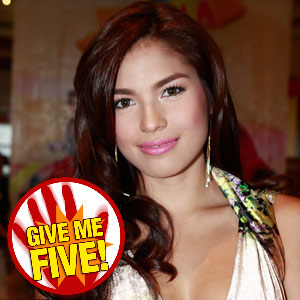 GIVE ME FIVE featuring Andrea Torres
