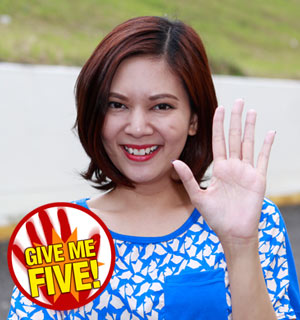 GIVE ME FIVE featuring Chynna Ortaleza