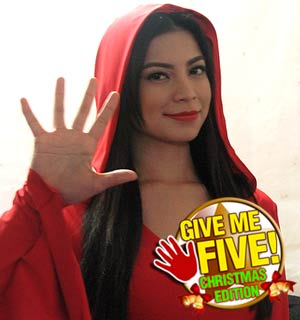 GIVE ME FIVE featuring Glaiza de Castro (Christmas edition)