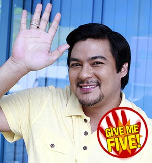 GIVE ME FIVE featuring Jomari Yllana