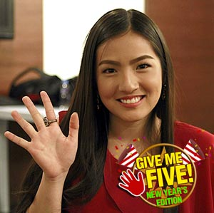 GIVE ME FIVE featuring Joyce Ching (New Year edition)