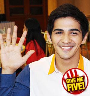 GIVE ME FIVE featuring Phytos Ramirez