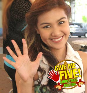GIVE ME FIVE featuring Wyn Marquez (Christmas Edition)