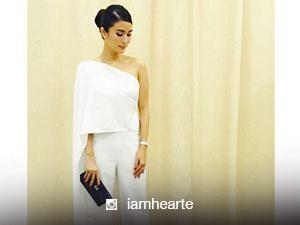 Heart Evangelista's message to young aspiring artists after a successful art exhibit