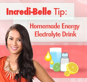 how to make my own electrolyte drink