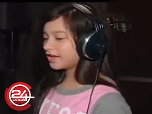 Jillian Ward, pangarap maging professional singer