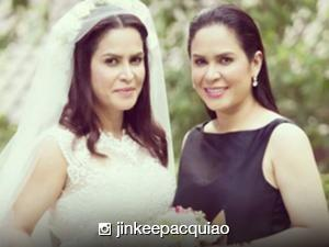 Jinkee Pacquiao's twin sister Janet gets married
