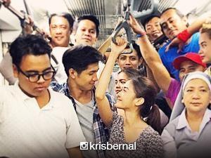 Kris Bernal at Aljur Abrenica, more than friends pero less than lovers daw?