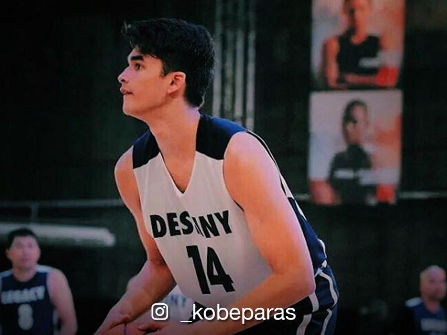 LOOK: Basketball heartthrob Kobe Paras graduates from Cathedral High School