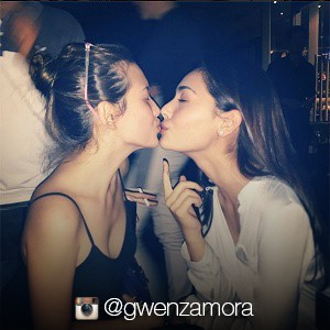 Look: Gwen Zamora and Ellen Adarna kiss!