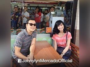 LOOK: Jennylyn Mercado, working on a movie with John Lloyd Cruz