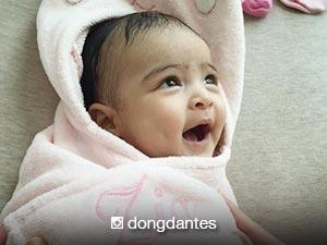 LOOK: Maria Letizia's bath time!