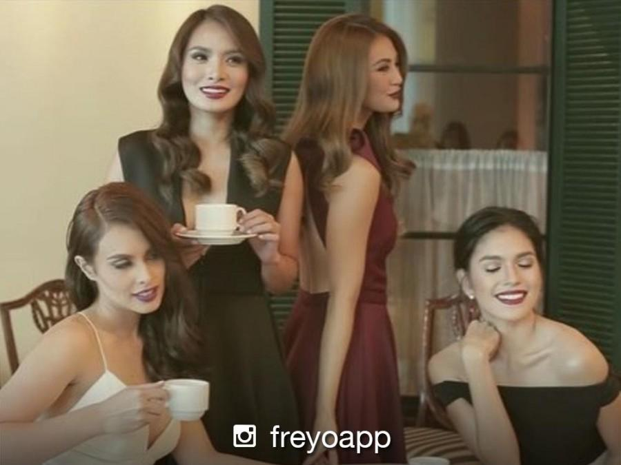 LOOK: Max Collins, Sam Pinto, Arny Ross and Andrea Torres in a classy magazine shoot