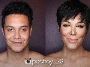 Paolo ballesteros makeup transformation vic sotto