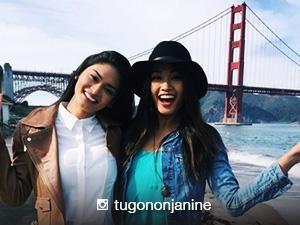 LOOK: Pia Wurtzbach and Janine Tugonon are in San Francisco!