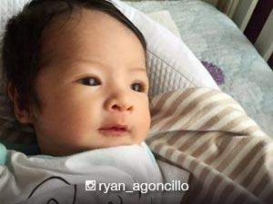 LOOK: Ryan Agoncillo greets Baby Luna a happy first monthsary