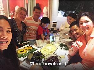 MUST-SEE: Regine and Ogie Alcasid celebrate the Holidays with Michelle van Eimeren