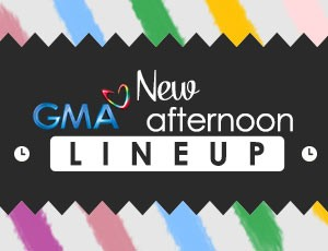 New GMA afternoon lineup starting November 3