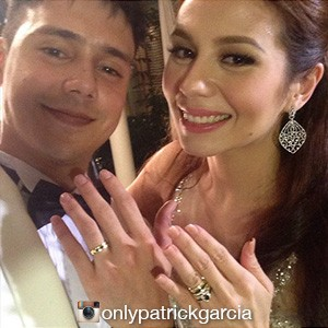 Patrick Garcia marries Nikka Martinez