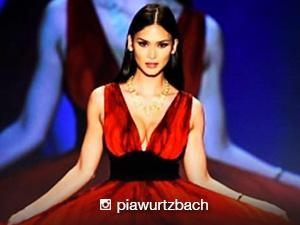 Pia Wurtzbach walked the runways of New York Fashion Week 2016