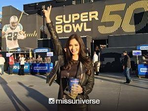 Pia Wurtzbach wowed by the star-studded Super Bowl halftime show