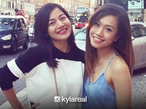 Rachelle Ann Go and Kyla, reunited in London