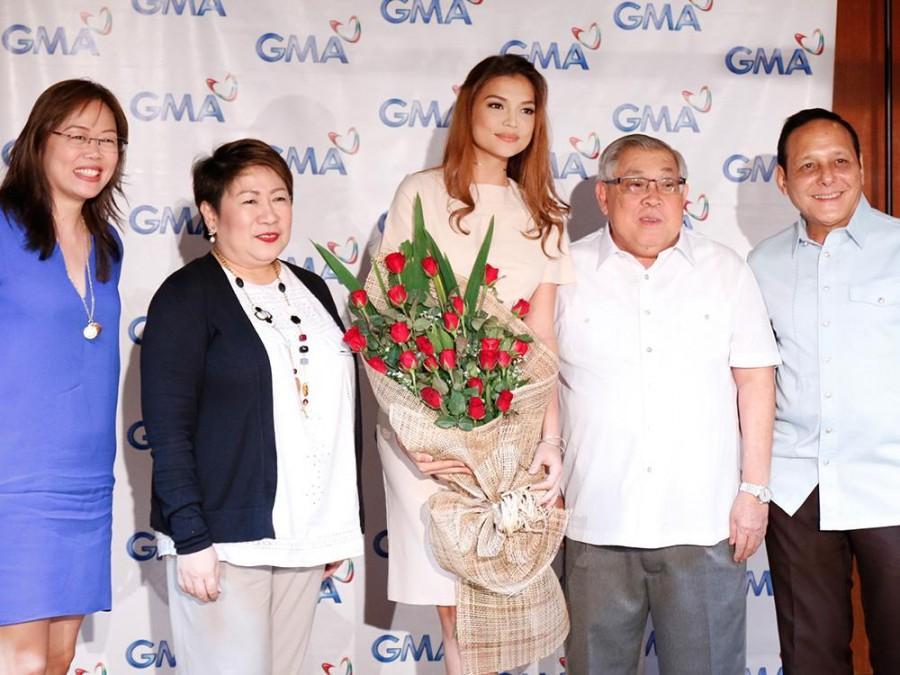 Rhian Ramos renews contract with GMA on her 10th showbiz anniversary