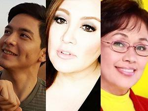 Sharon Cuneta, Vilma Santos at Alden Richards, puno ng paghanga kay Kuya Germs