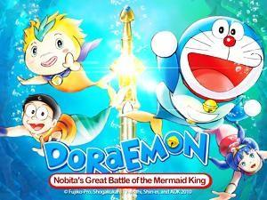 Sumama sa isang underwater adventure sa 'Doraemon Movie: Nobita's Great Battle of the Mermaid King'