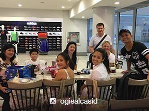 The Alcasids together with Michelle van Eimeren fly to Boracay for the holidays