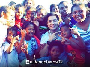 WATCH: Alden Richards visits Aeta community for his post-birthday celebration