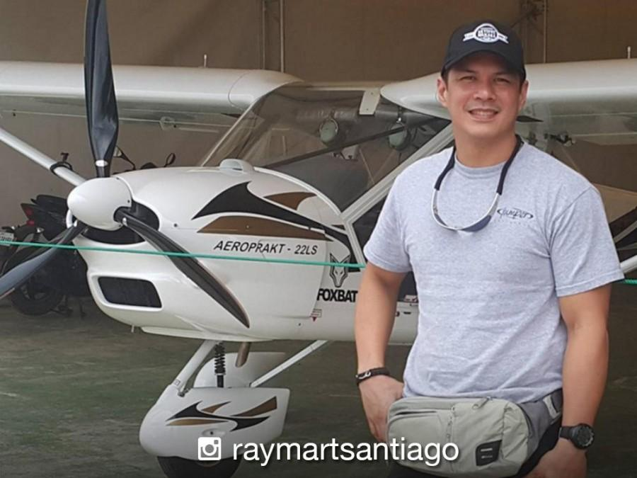 WATCH: Raymart Santiago, sinubukan ang flight simulator