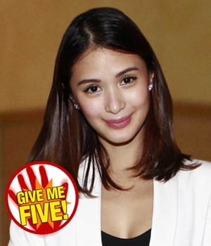 GIVE ME FIVE featuring Heart Evangelista | GMANetwork.com - Entertainment - Home of Kapuso shows and stars - Articles - give_me_five_featuring_heart_evangelista_1378118284