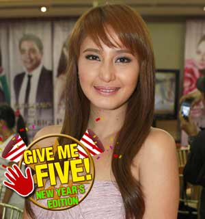 GIVE ME FIVE featuring <b>Katrina Halili</b> (New Year Edition) | GMANetwork.com ... - give_me_five_featuring_katrina_halili__new_year_edition__1388977092