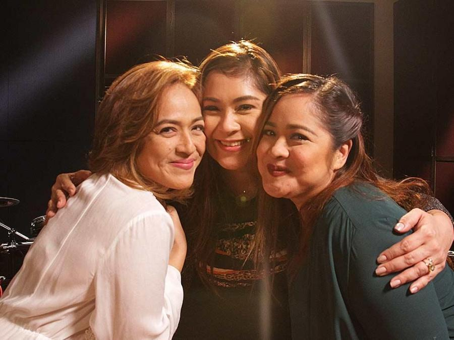 IN PHOTOS: Tres Marias Tina Paner, Sheryl Cruz, and Manilyn Reynes on the Playlist - GMA News