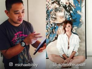 IN PHOTOS: 9 celebrities who draw or paint