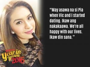 Kapuso Year In Review 2016: Celebrities' best responses to bashers