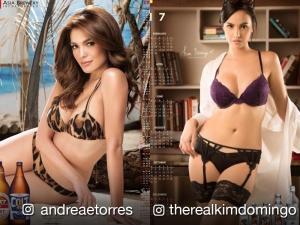 LOOK: 19 female celebrities who became calendar girls