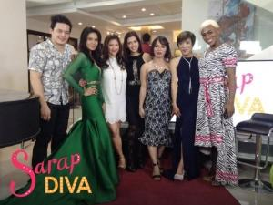 Look: Alden Richards, Maria Isabel Lopez, Ate Gay, Analyn Barro, at Kevin Sagra in 'Sarap Diva'