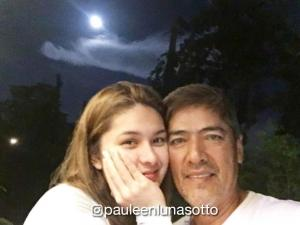 IN PHOTOS: Celebrities catch the supermoon