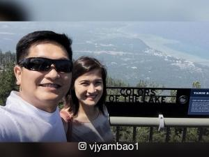 #onaVCation: Camille Prats and VJ Yambao shoot prenup photos in California