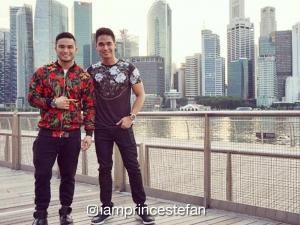 LOOK: Prince Stefan and rumored boyfriend, super sweet in their Singapore vacay