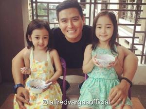 IN PHOTOS: The super cute daughters of Alfred Vargas