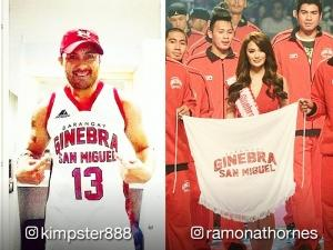 LOOK: Stars celebrate the PBA championship of Barangay Ginebra Gin Kings