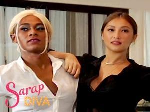 Regine Velasquez-Alcasid, nakilala ang mga kakambal nina Solenn Heussaff and Sanya Lopez sa 'Sarap Diva'