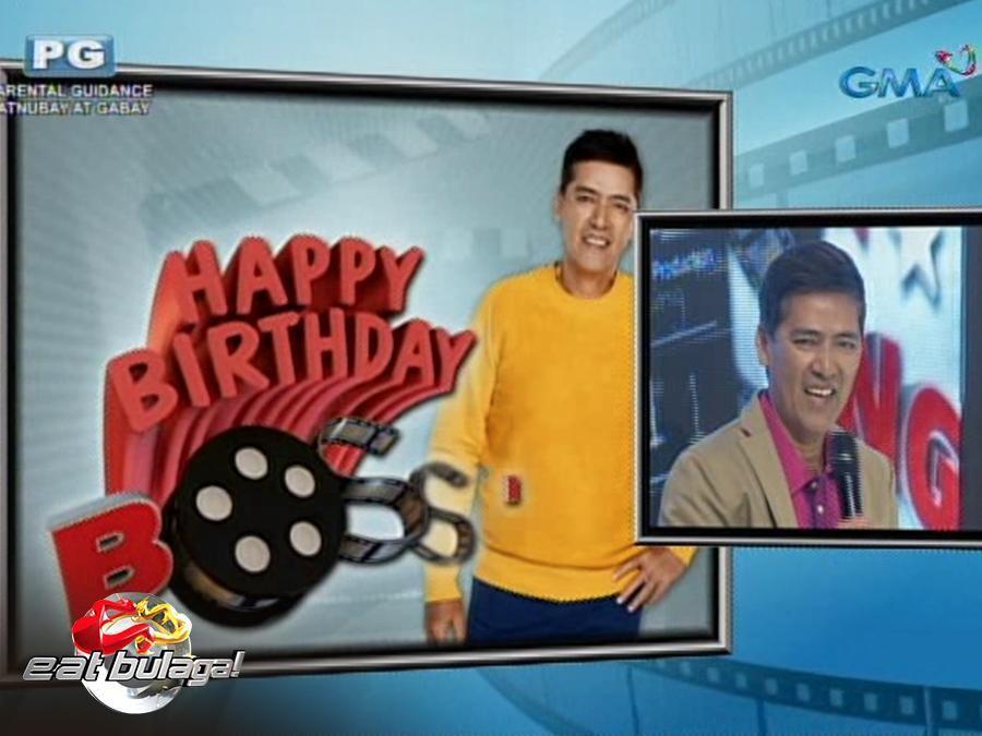 'Eat Bulaga' Kalye-serye Recap: Ang birthday celebration ni Bossing Vic Sotto