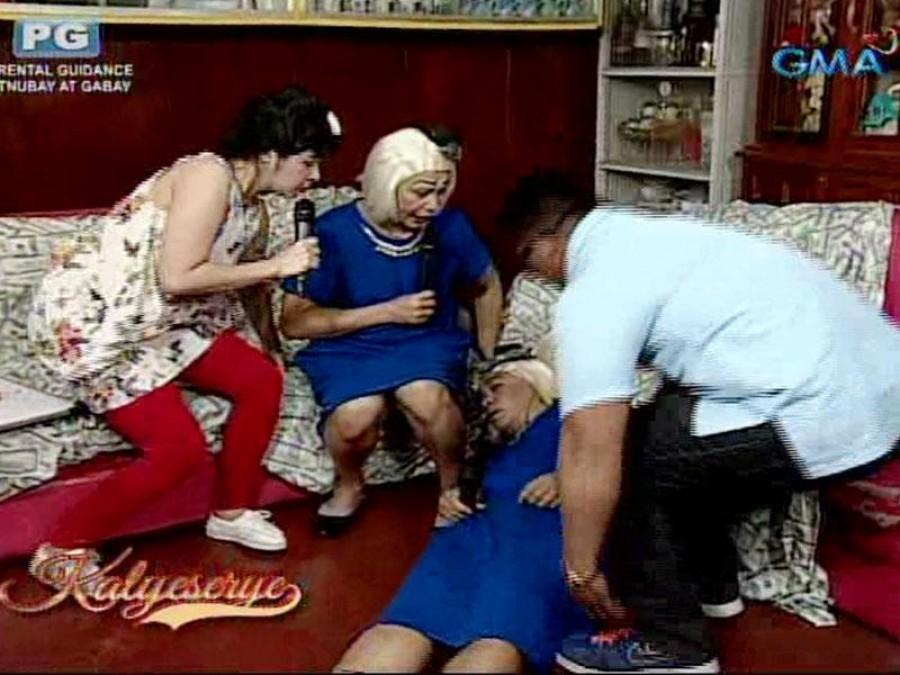 'Eat Bulaga' Kalye-serye Recap: Lola Nidora, hinimatay