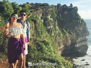 #BaliHeat: Sarah Lahbati's sexy photos in Bali!