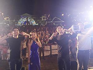'Little Nanay'Stars, dinagsa ng mga fans sa Ilocos Norte